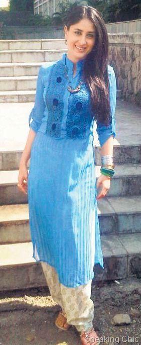 Punjabi Kurta Worn By Kareena Kapoor
