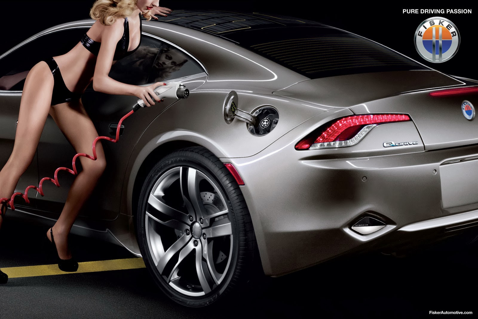 Cool And Efficient Hybrid Cars Fisker Karma