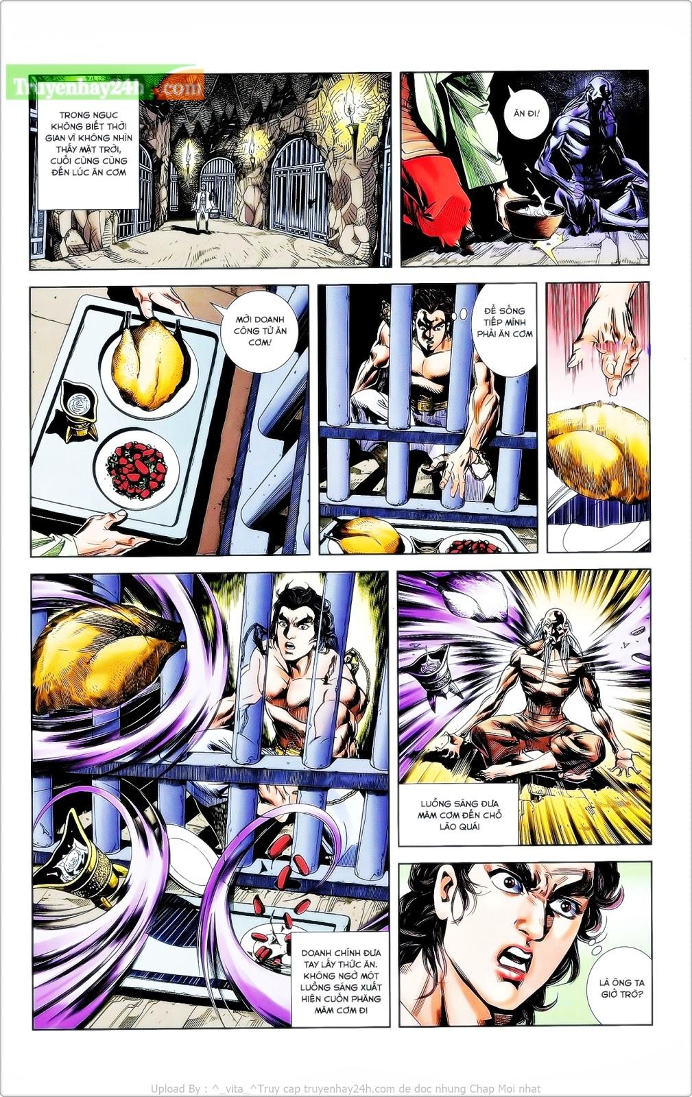 Tần Vương Doanh Chính chapter 24 trang 22