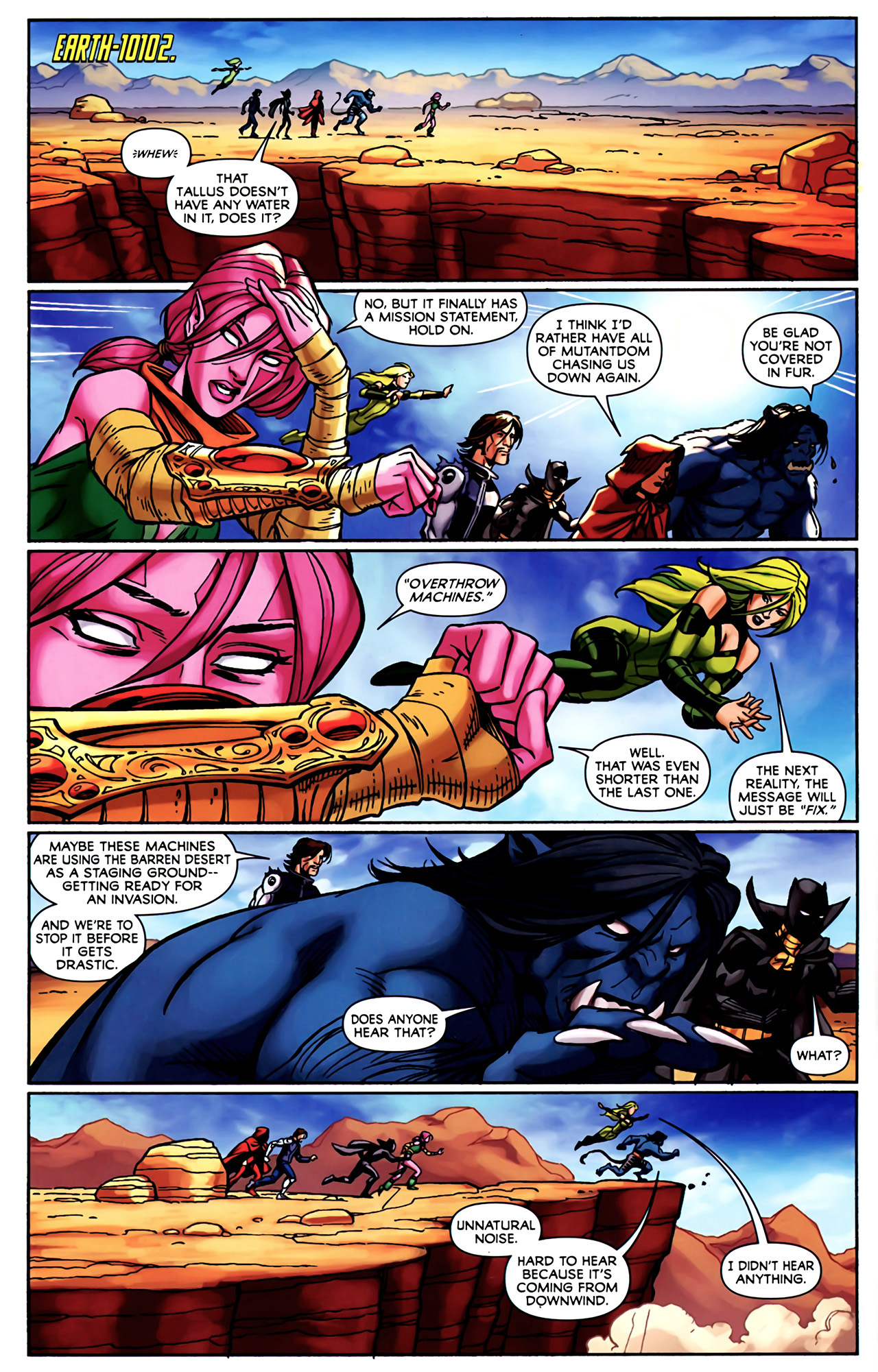 Read online Exiles (2009) comic -  Issue #4 - 3