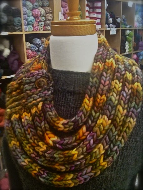 Gina Brown S Yarn Vancouver Ropes Cowl