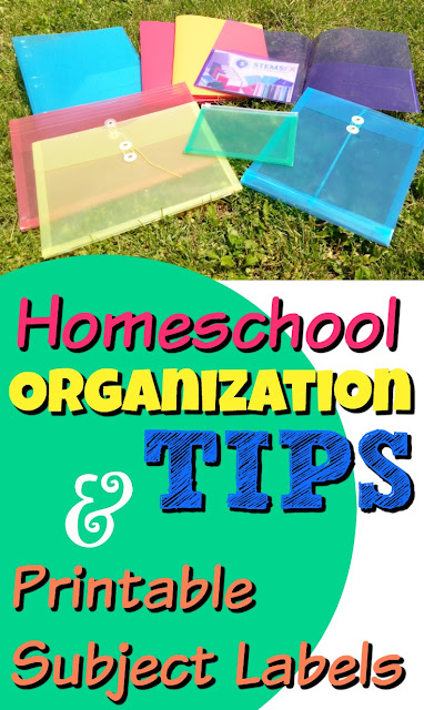 Best Homeschool Organization Tips