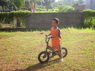 Belajar Sepeda Roda Dua