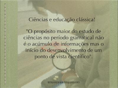 educação clássica