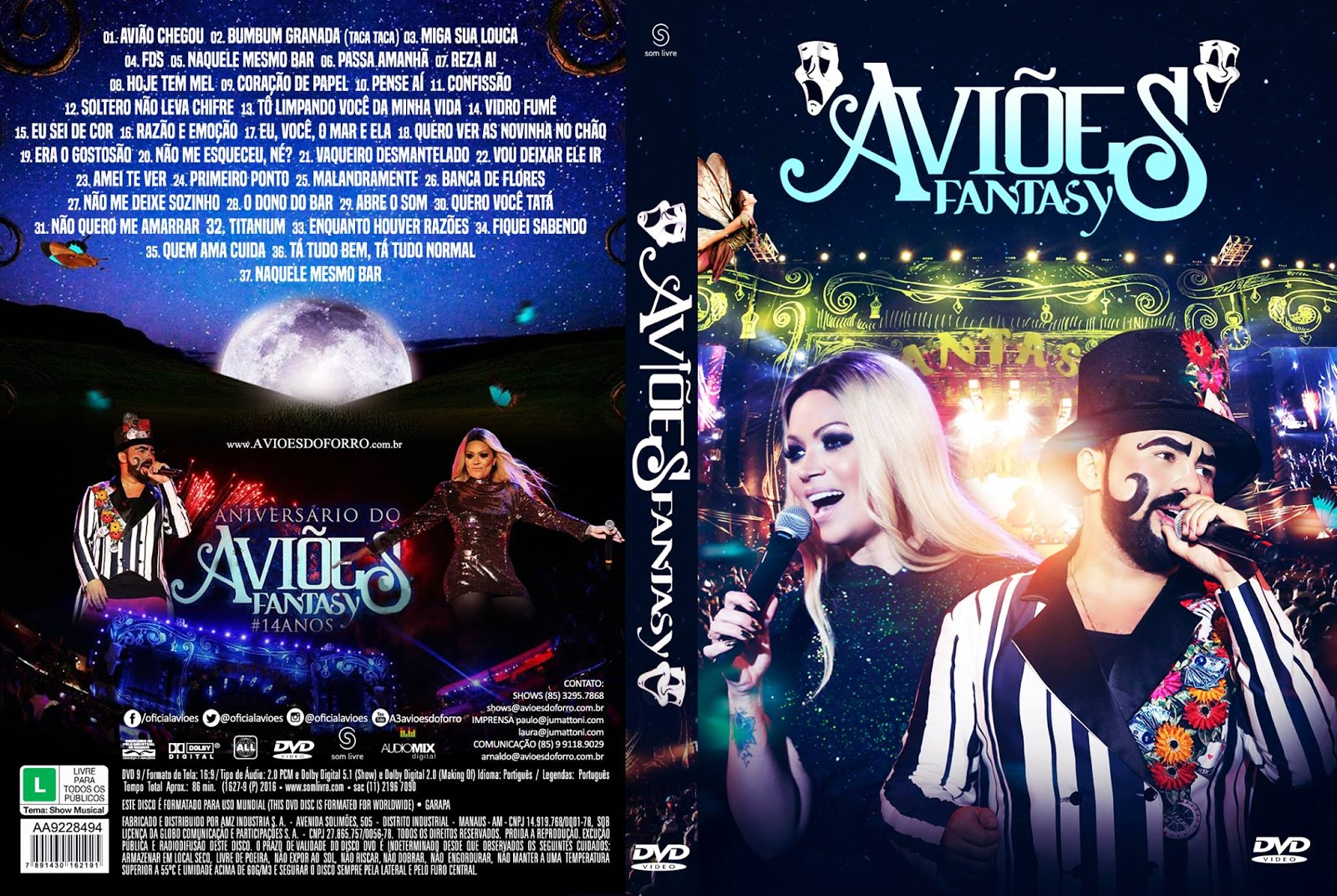 Download Aviões Do Forró Fantasy 2016 DVD-R Download Aviões Do Forró Fantasy 2016 DVD-R Avioes 2BDo 2BForr 25C3 25B3 2B  2BFantasy 2B2016 2BDVD R 2BCapa