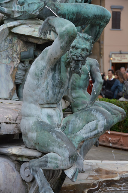 Neptune fountain Florence