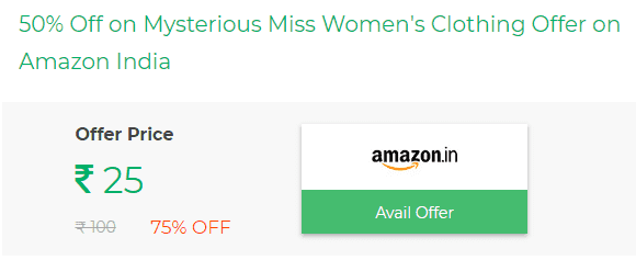Mysterious Miss Women's Clothing