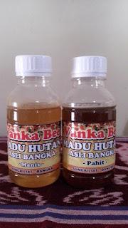 madu pahit hutan herbal pelawan bangka belitung