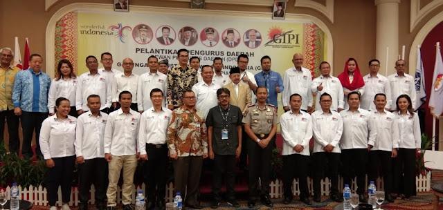 Para pengurus GIPI Provinsi Kepulauan Riau berfoto bersama