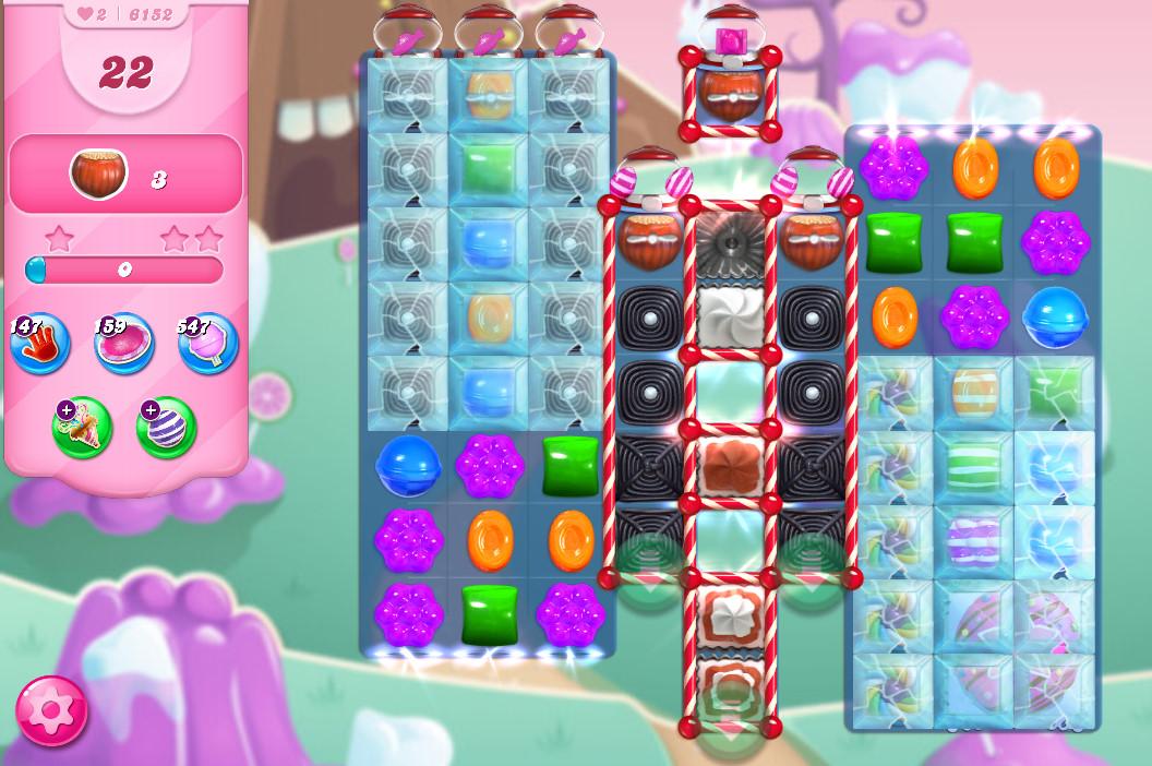 Candy Crush Saga level 6152