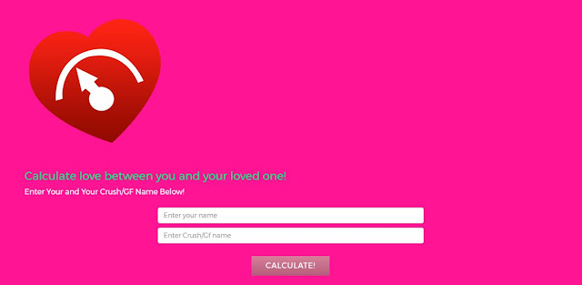 fake lover calculator prank