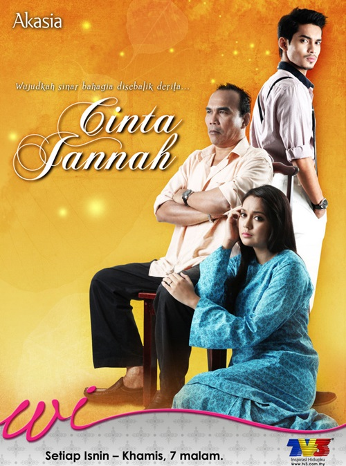 Original Sound Track OST Cinta Jannah TV3, lagu tema drama Cinta Jannah TV3, lagu latar, download OST Cinta Jannah TV3, tonton video klip lagu Angin Syurga - Misha Omar, Erry Putra – lagu Tidak Tidak