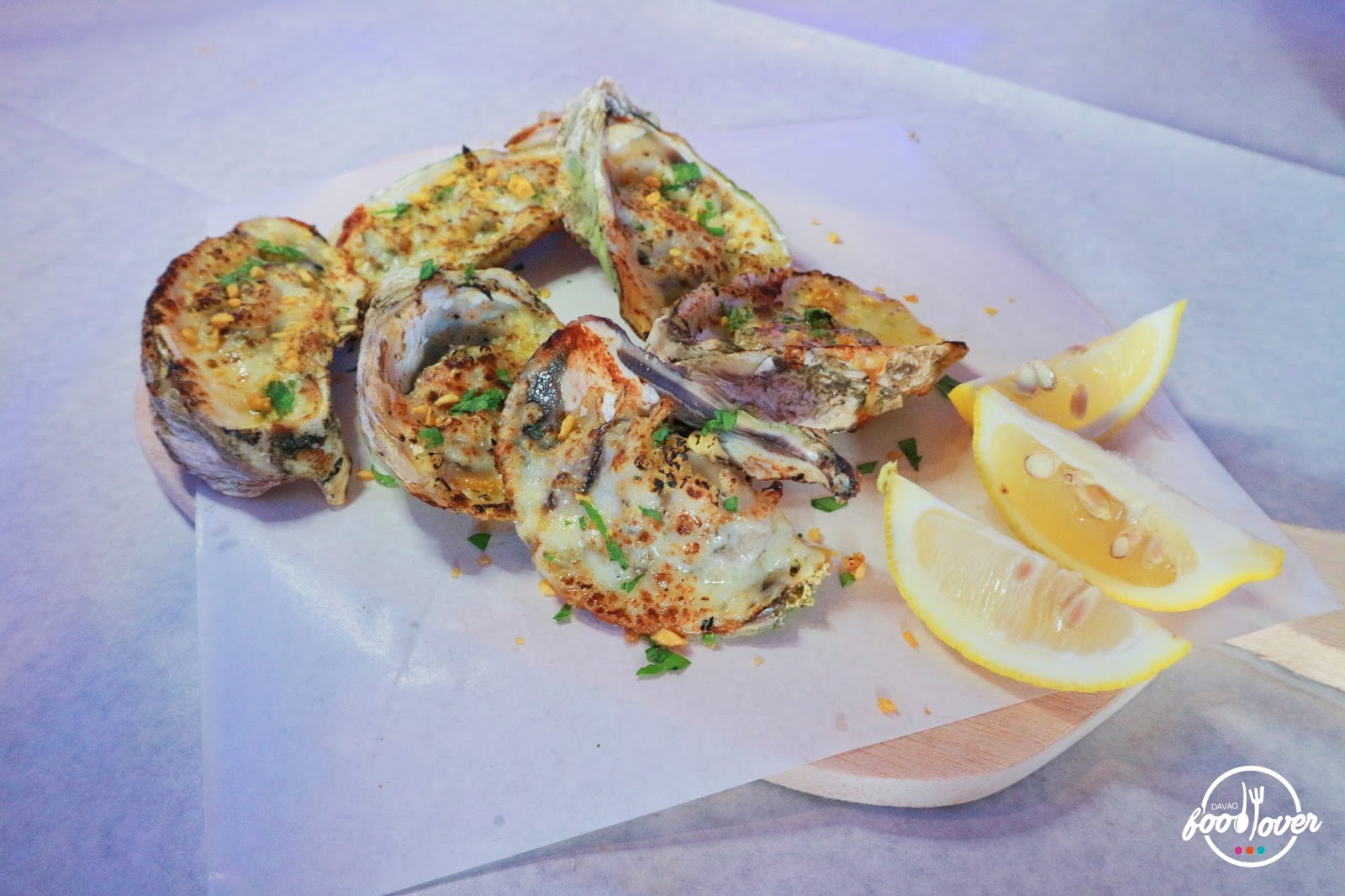 Blue Posts Boiling Crabs and Shrimps - Grilled Oysters