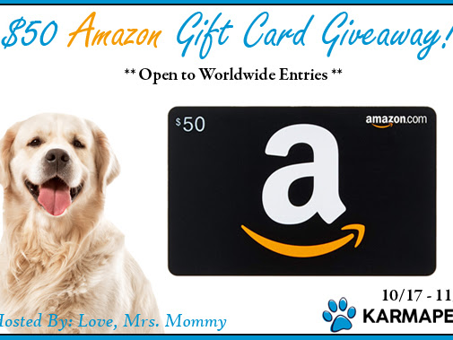 $50 Amazon Gift Card Giveaway!