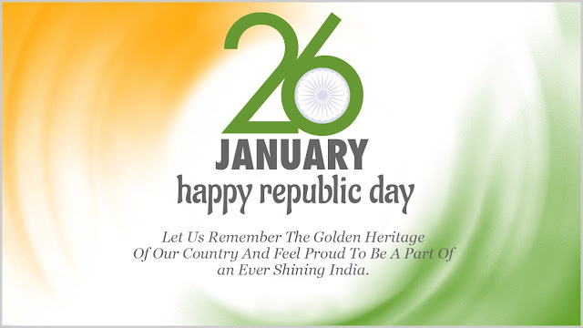 Happy Republic Day Images Pictures Wallpapers in English