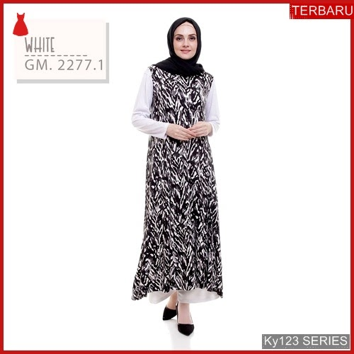 Ky123g116 Gamis Muslim Seeqa Murah Zareen Bmgshop Terbaru