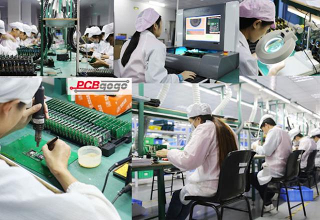 PCB en China.