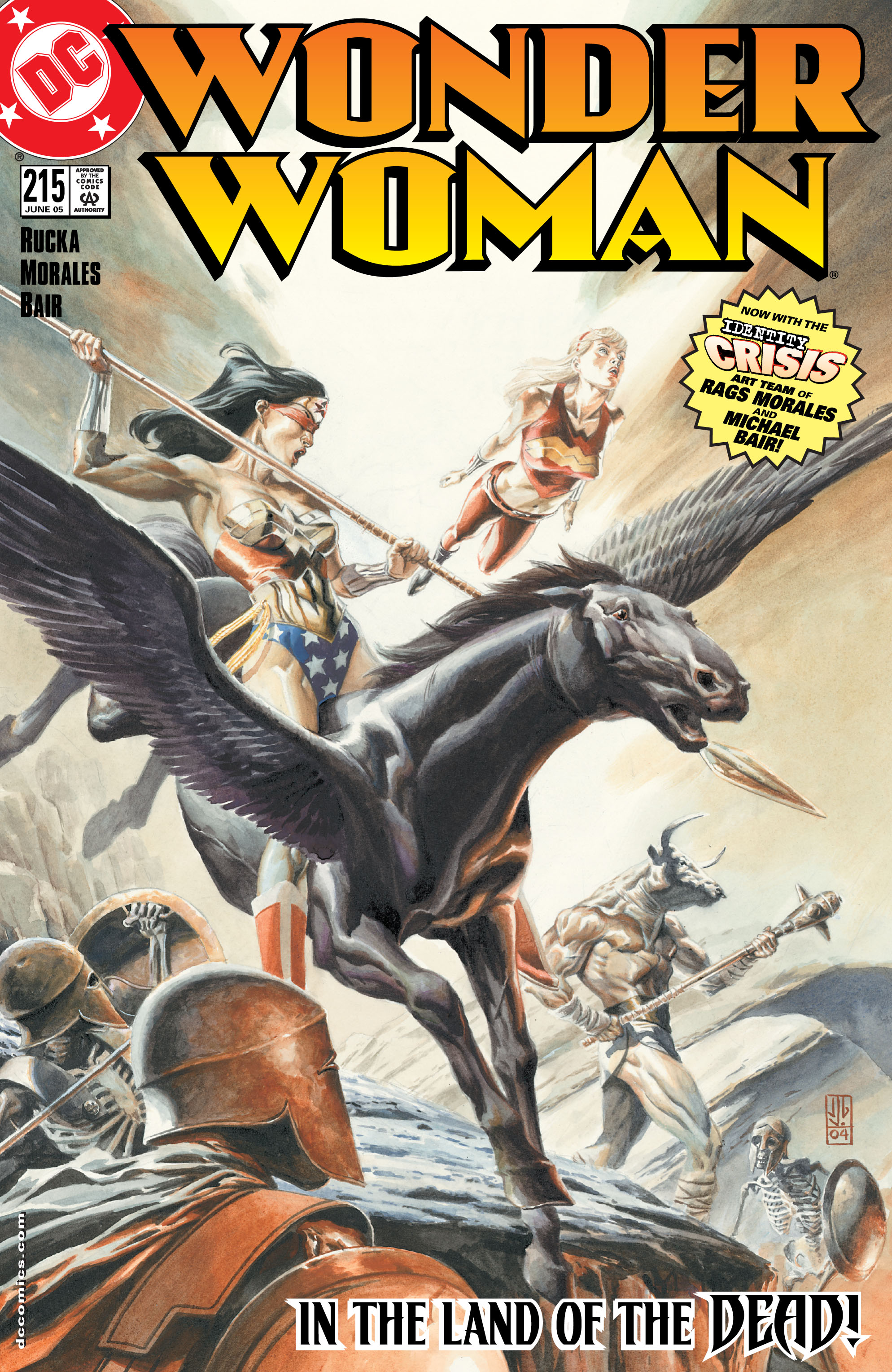 Read online Wonder Woman (1987) comic -  Issue #215 - 1