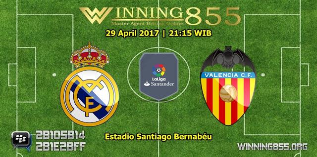 Prediksi Skor Real Madrid vs Valencia 29 April 2017