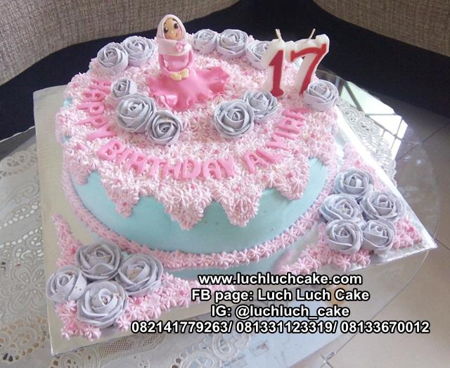 Kue Tart Sweet Seventeen Cake