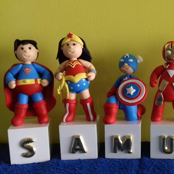 Cubos de Super Heróis