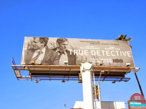 True Detective series premiere billboard