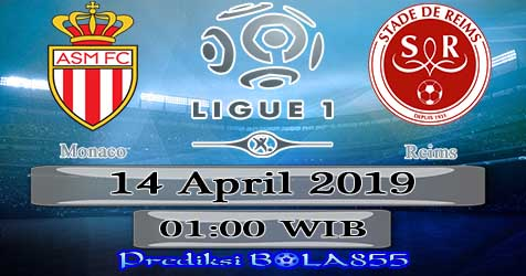 Prediksi Bola855 Monaco vs Reims 14 April 2019
