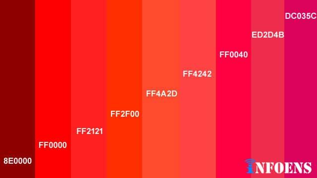 10 Best Red Color Palettes