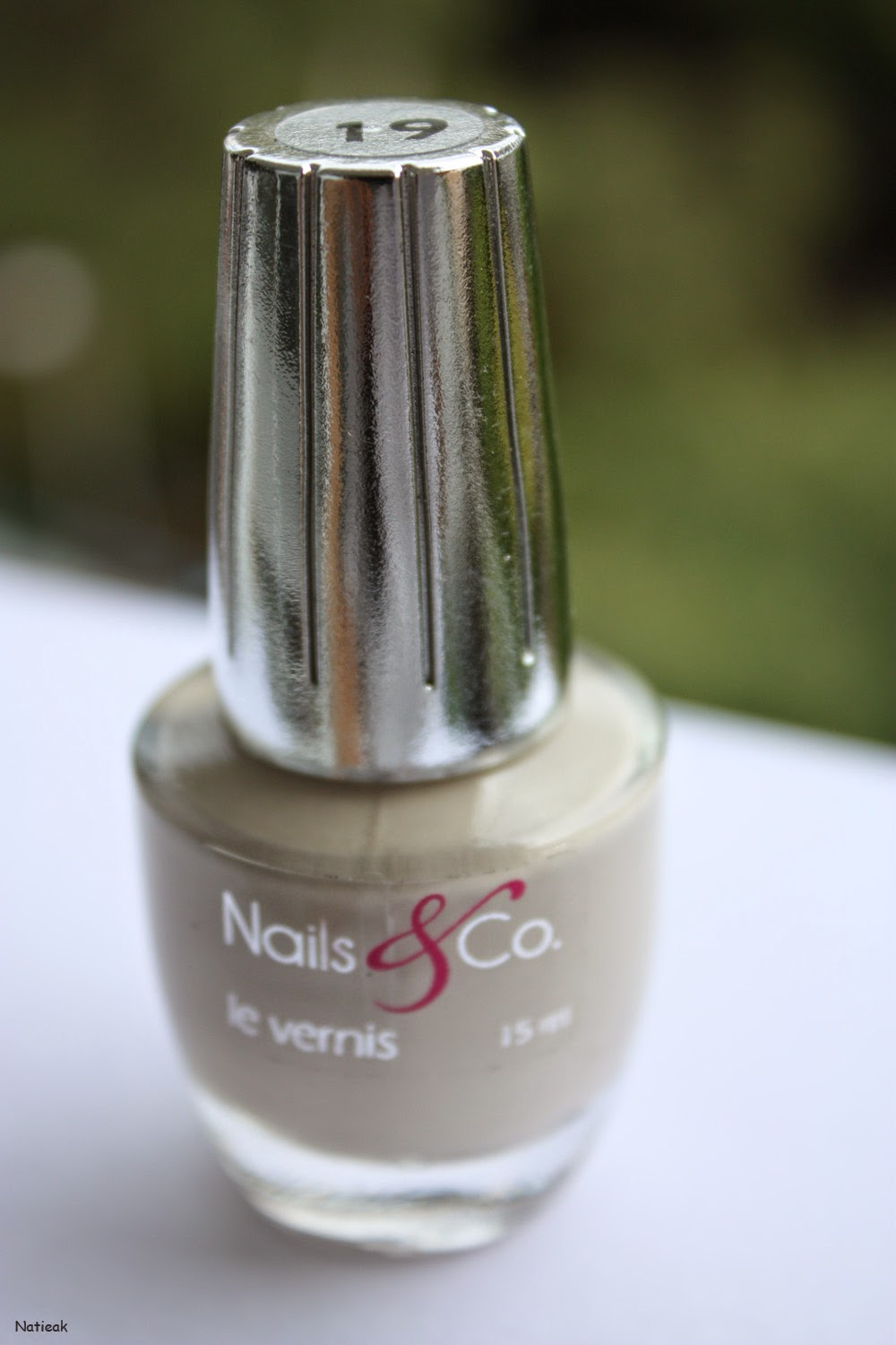 Vernis à ongles  Nails and co Beige numéro 19