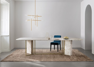 Новости дизайна. Meridiani запускает коллекцию скульптурных обеденных столов Plinto