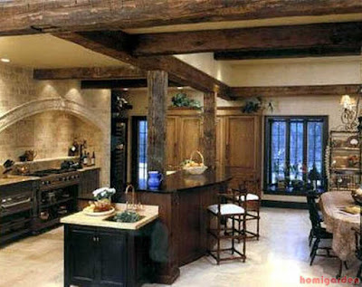 The French kitchen design is very inspirational with its basic and simple appearance