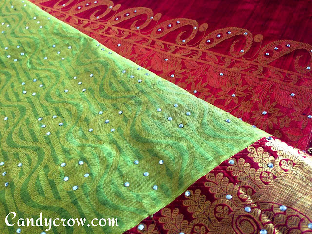 Blouse design for Kanchipuram silk saree | Reception saree blouse design