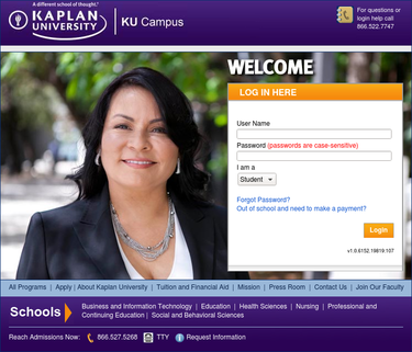 Kaplan University Login, Sign In - Kaplan Student Login -