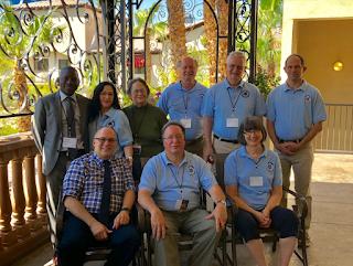 Committee members group photo
