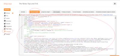 cara mengganti template(tampilan) blog dengan template keren