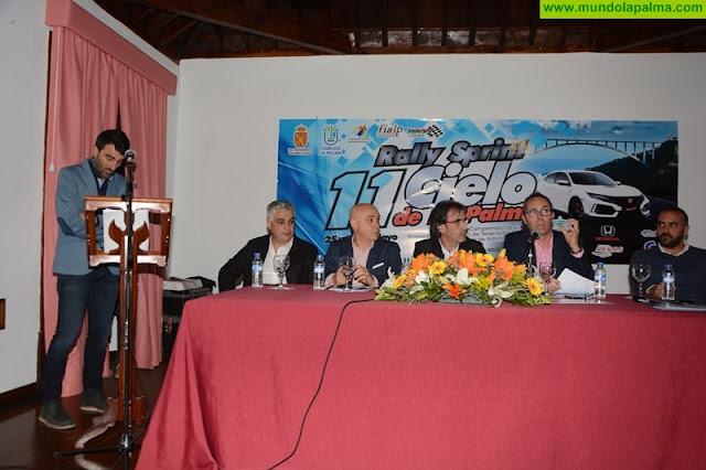 El Rallye Cielo de La Palma conquistará el asfalto de San Andrés y Sauces los días 25 y 26 de mayo