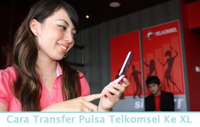 Cara Transfer Pulsa Telkomsel Ke XL (Termudah.com)