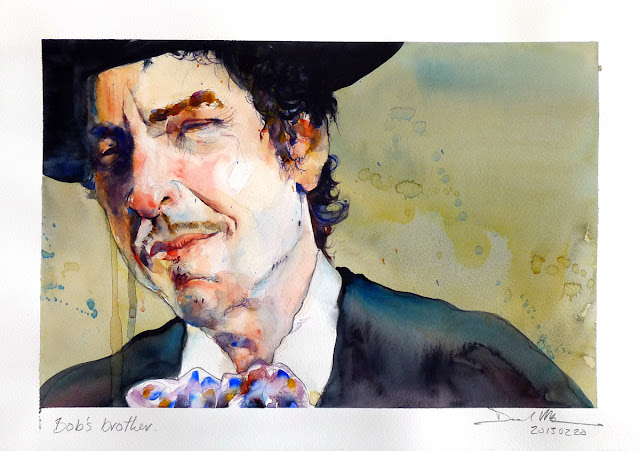 Bob Dylan by David Meldrum