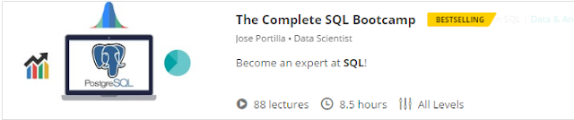 The Complete SQL Bootcamp