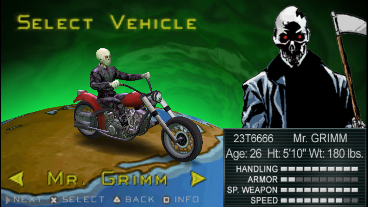 Twisted Metal Head-On (PSP/ISO/FULL/RUS/ENG/Patched)
