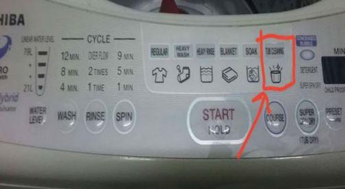 Cara Mudah Cuci Mesin Basuh