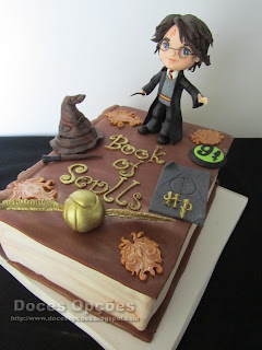 cake book of spells Harry Potter