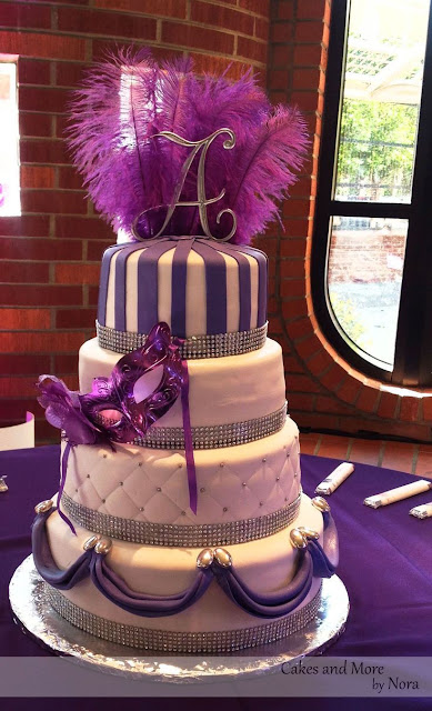 bolos fondant de carnaval festa de 15 anos temático