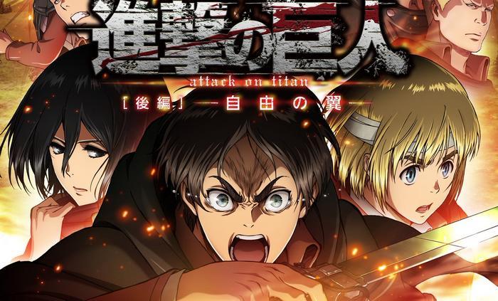 جميع حلقات انمي Shingeki no Kyojin Movie 2 Jiyuu no Tsubasa مترجم (تحميل + مشاهدة مباشرة)