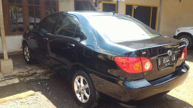 harga bekas Toyota Altis tahun 2002