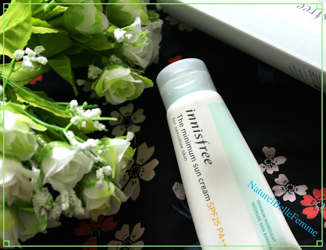 Innisfree minimum suncream
