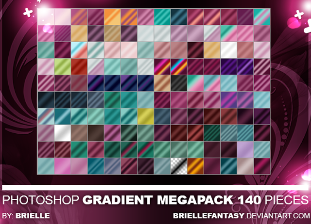 Mega Photoshop Gradient Pack