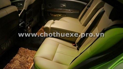 Cho thuê xe cưới VIP BMW 745i giá tốt tại Hà Nội