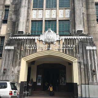 Santisimo Rosario Parish Entrance