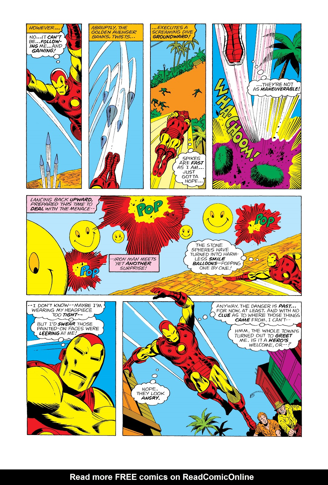 Read online Marvel Masterworks: The Invincible Iron Man comic -  Issue # TPB 11 (Part 2) - 31